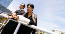 Abteilungsleiter Wong und Yan